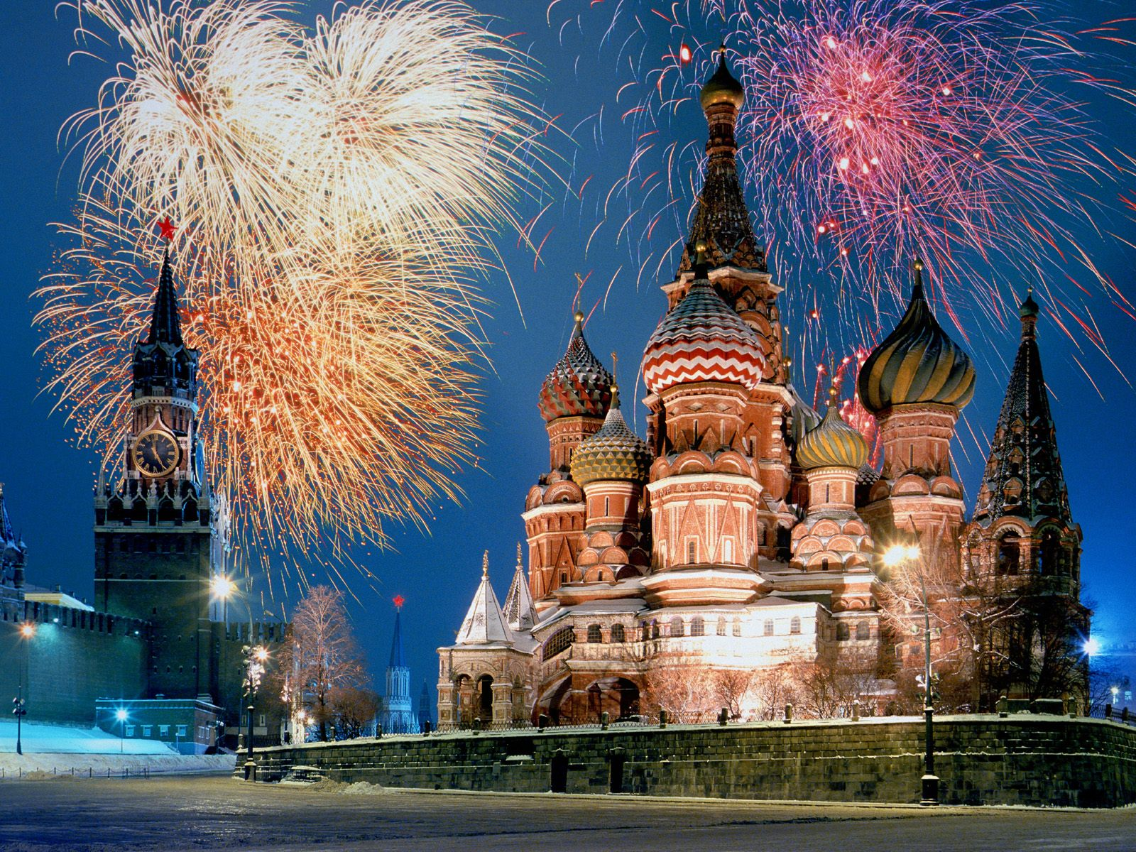 St Basils Cathedral Moscow Russia