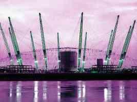 millennium dome masts