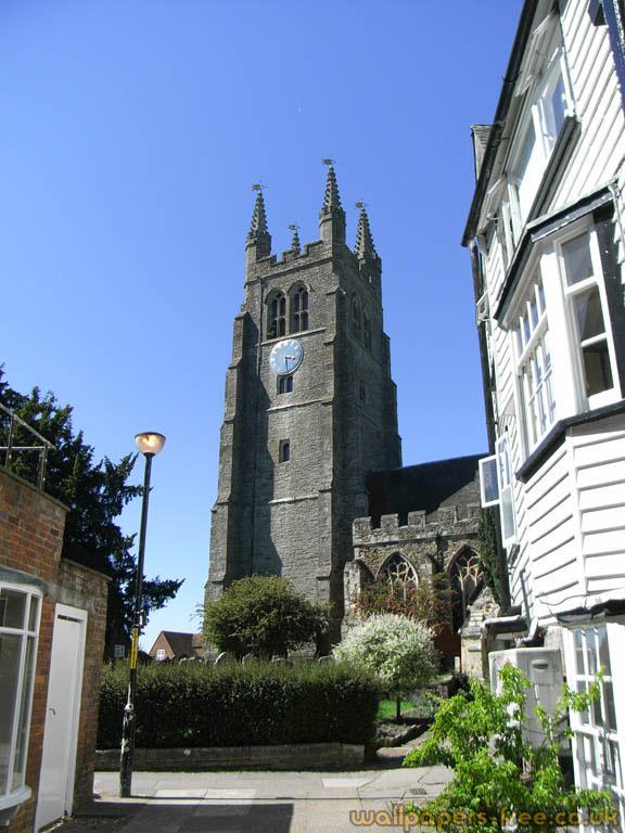 Old Church In Tenterden Kent