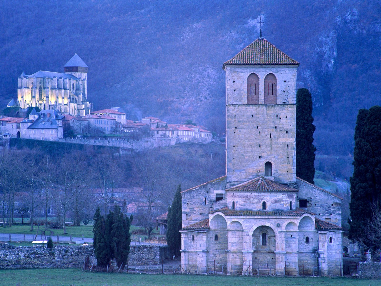 St Bertrand De Comminges Cathedral Gascony France