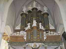 bolsward martinikerk church organ pipes