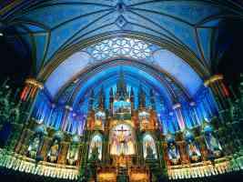 notre dame basilica montreal canada