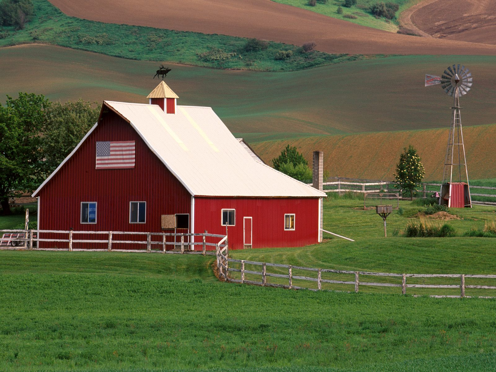 Palouse Farm Country Eastern Washington