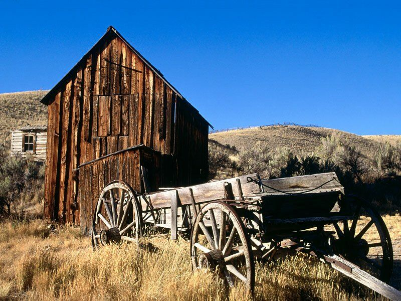 Ghost Town Bannock Montana
