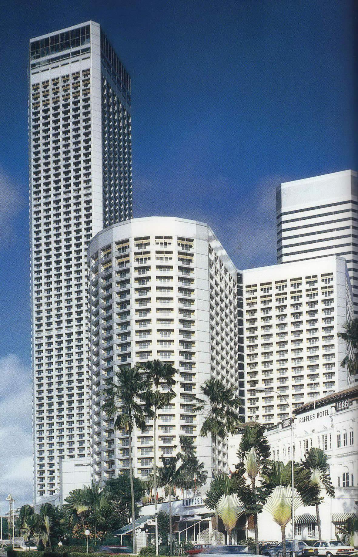 Westin stamford hotel singapore tallest wallpaper for Tallest hotel in singapore