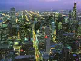 chicago nightlights