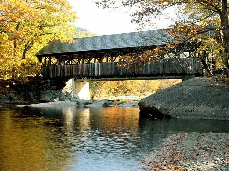 Artists Bridge Built 1872 Sunday River Newry Maine
