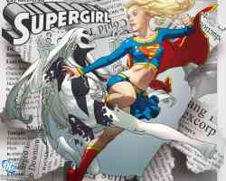 supergirl in action
