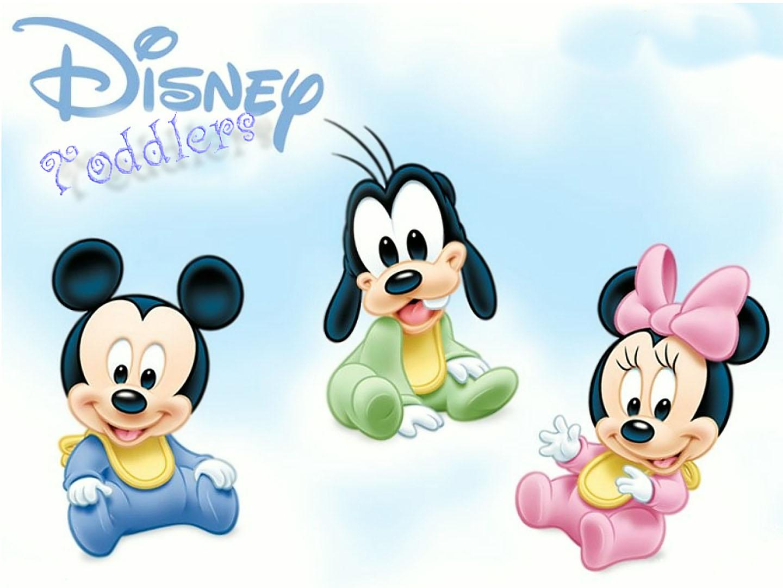 Baby Mickey Goofy And ...