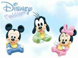 baby mickey goofy and minnie