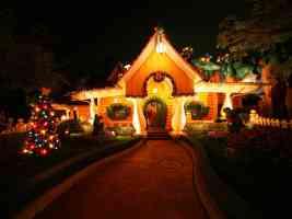 disney christmas light grotto