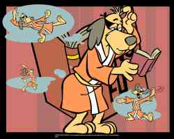 hong kong phooey reading a kung fu book