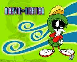 marvin the martian looking puzzled