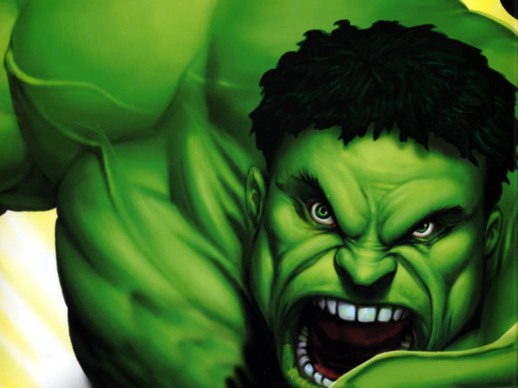 Hulk Close Up