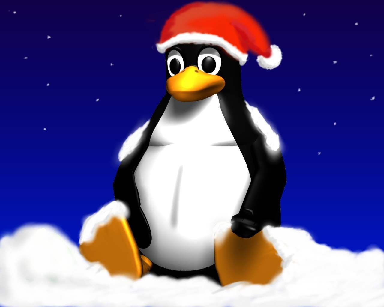 Xmas Penguin