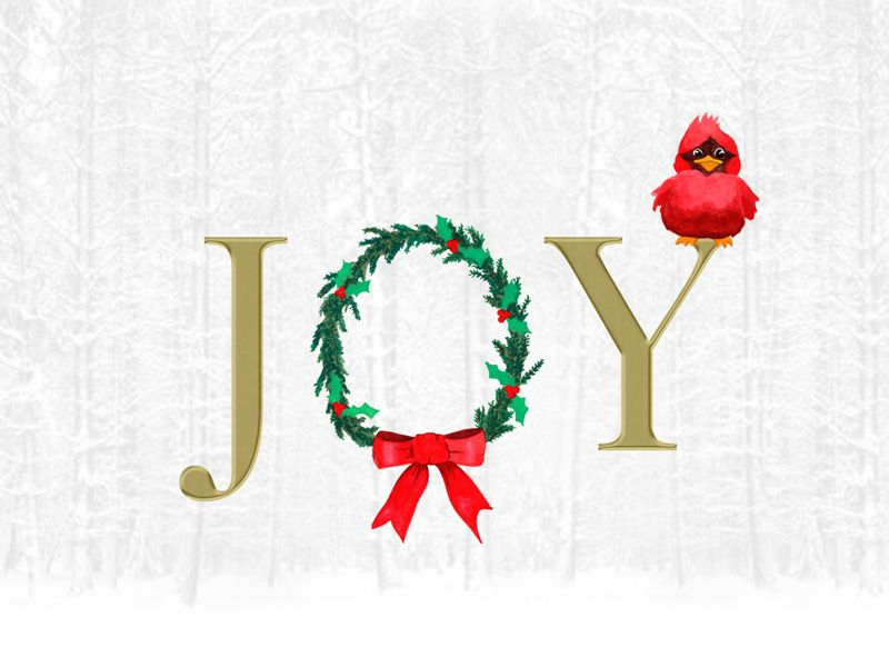 Joy To The World - Christmas Cards