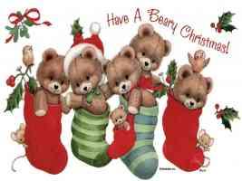 christmas teddys
