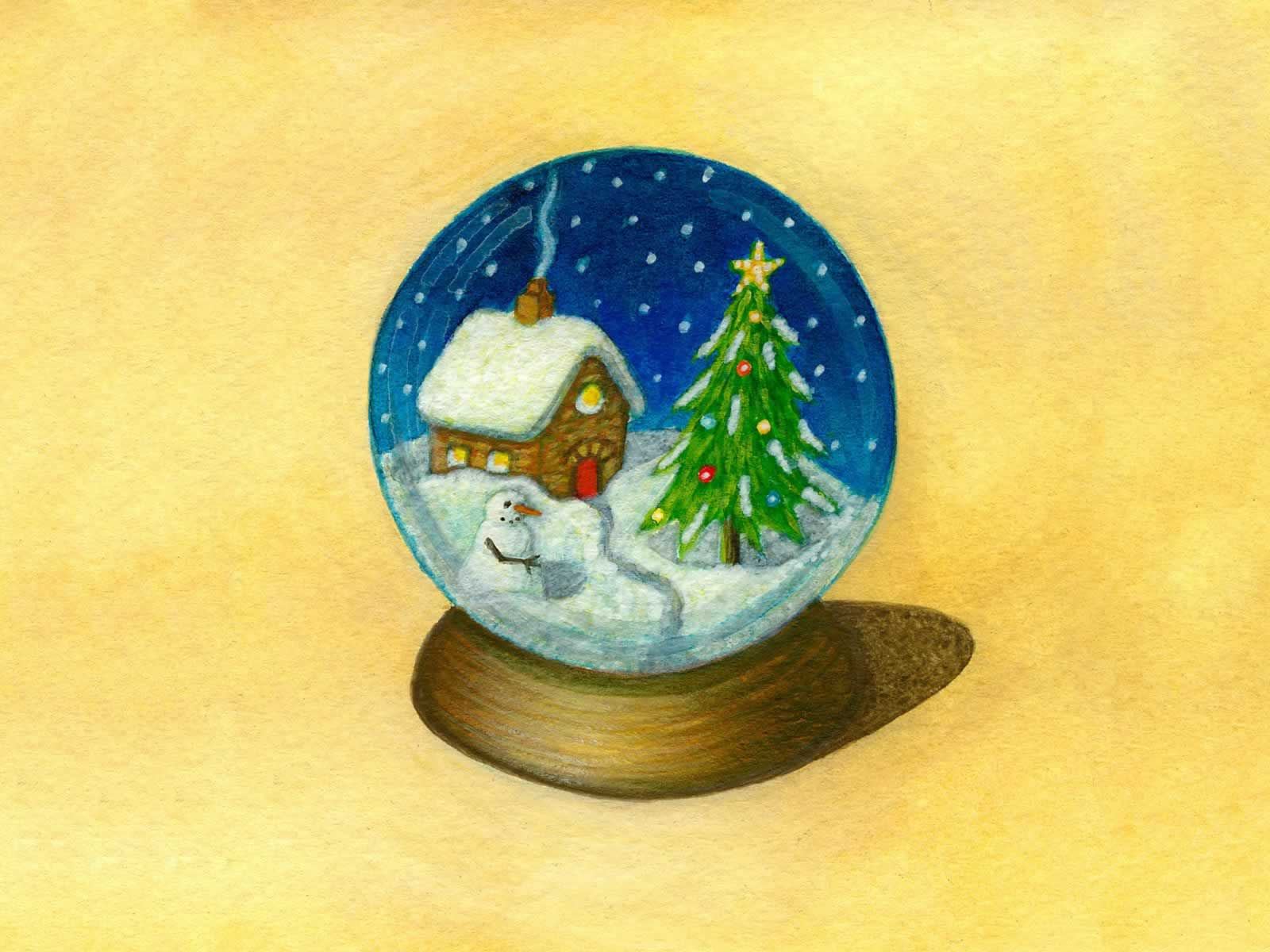 Holiday Snowglobe