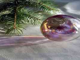 mirror bauble