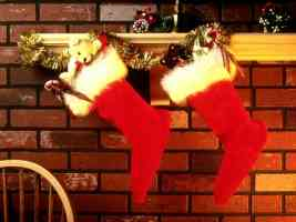 two xmas stockings