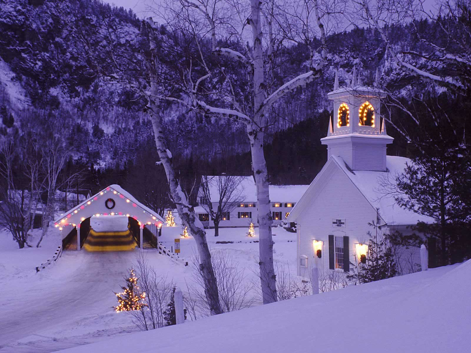 Country Christmas Background Wallpaper.A Country Christmas Stark New Hampshire Christmas Landscapes