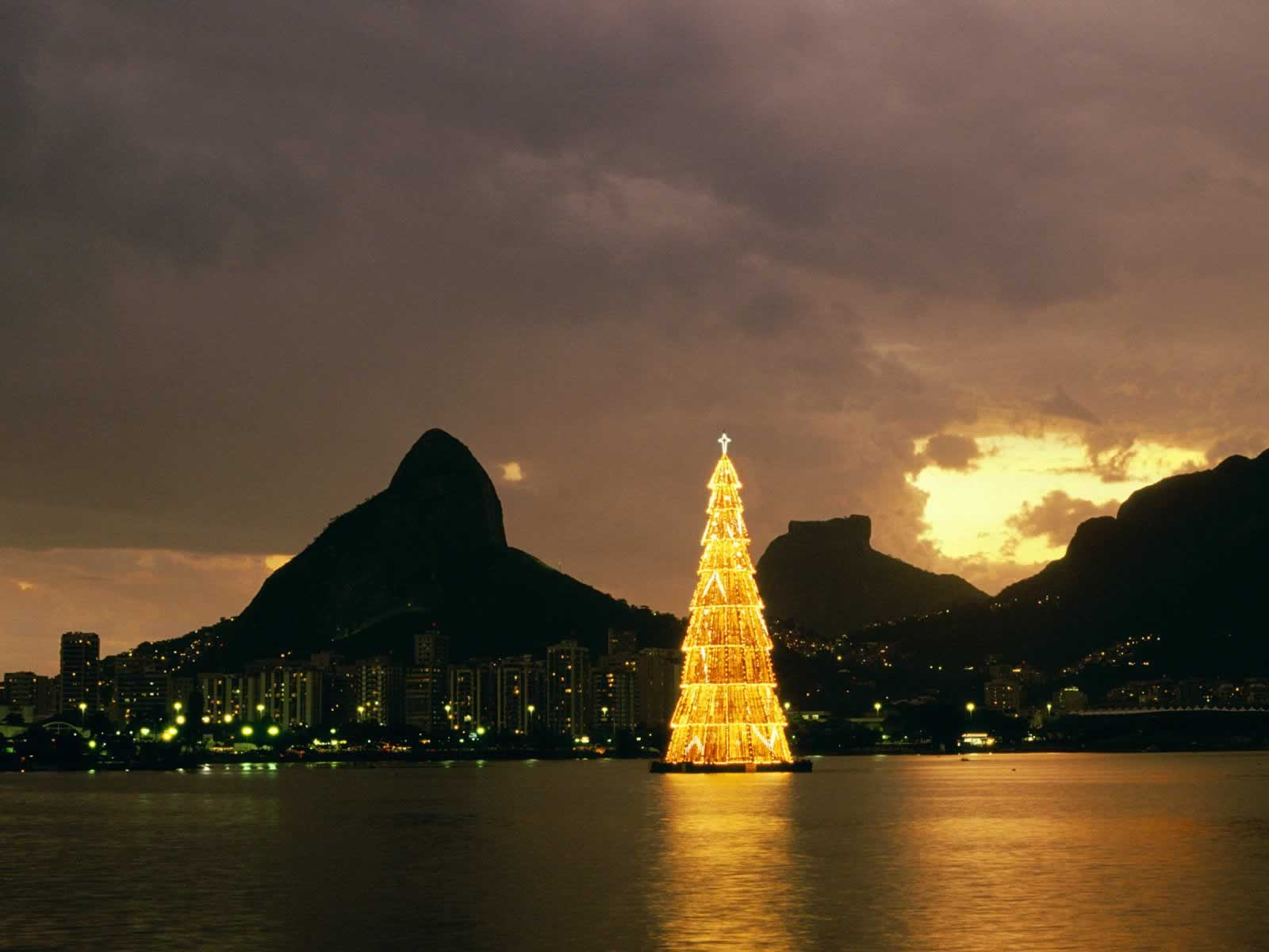 Christmas In Rio De Janeiro Brazil