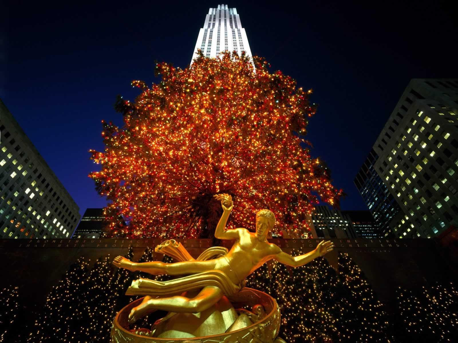Christmas In Rockefeller Center New York