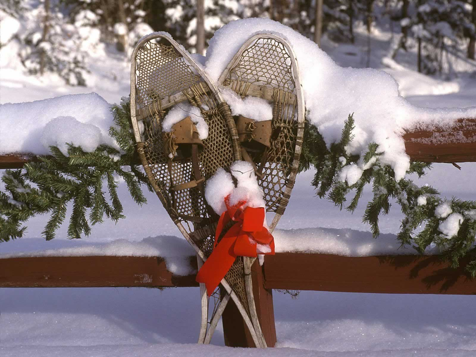 Holiday Snowshoes Vermont