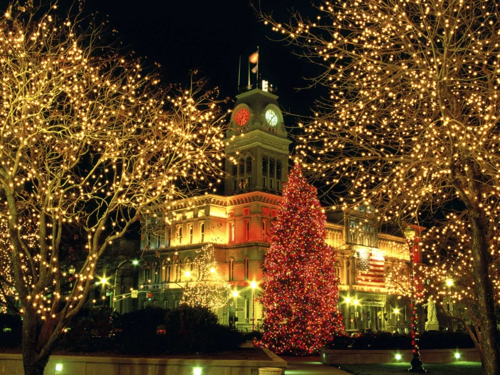Louisville Lights Kentucky - Christmas Landscapes