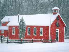 Little Red School House Leelanau County Michigan