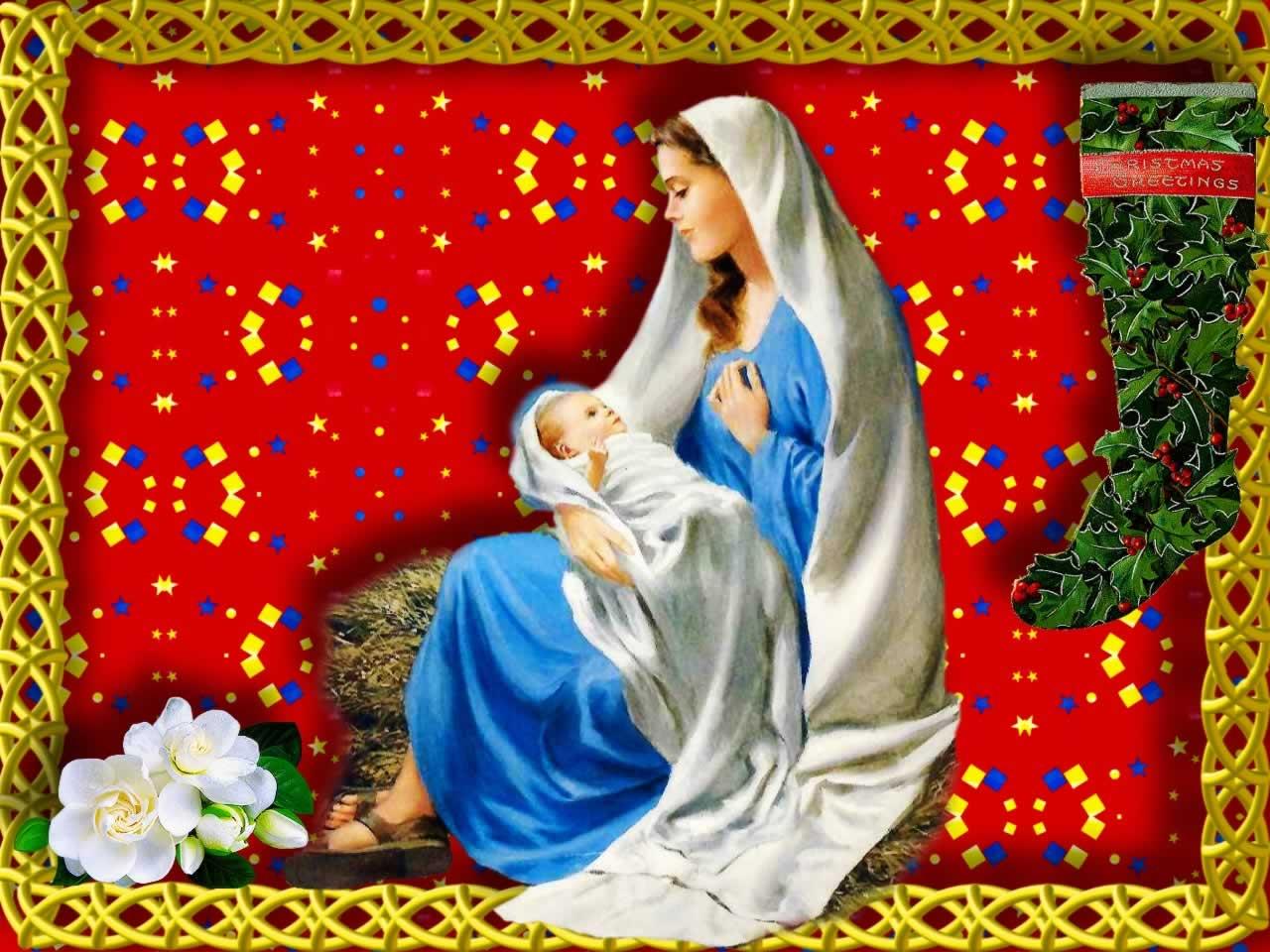 Holy Mother Mary - Christmas Nativity