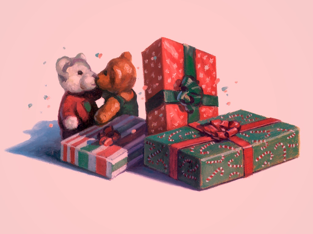 Presents And Teddies