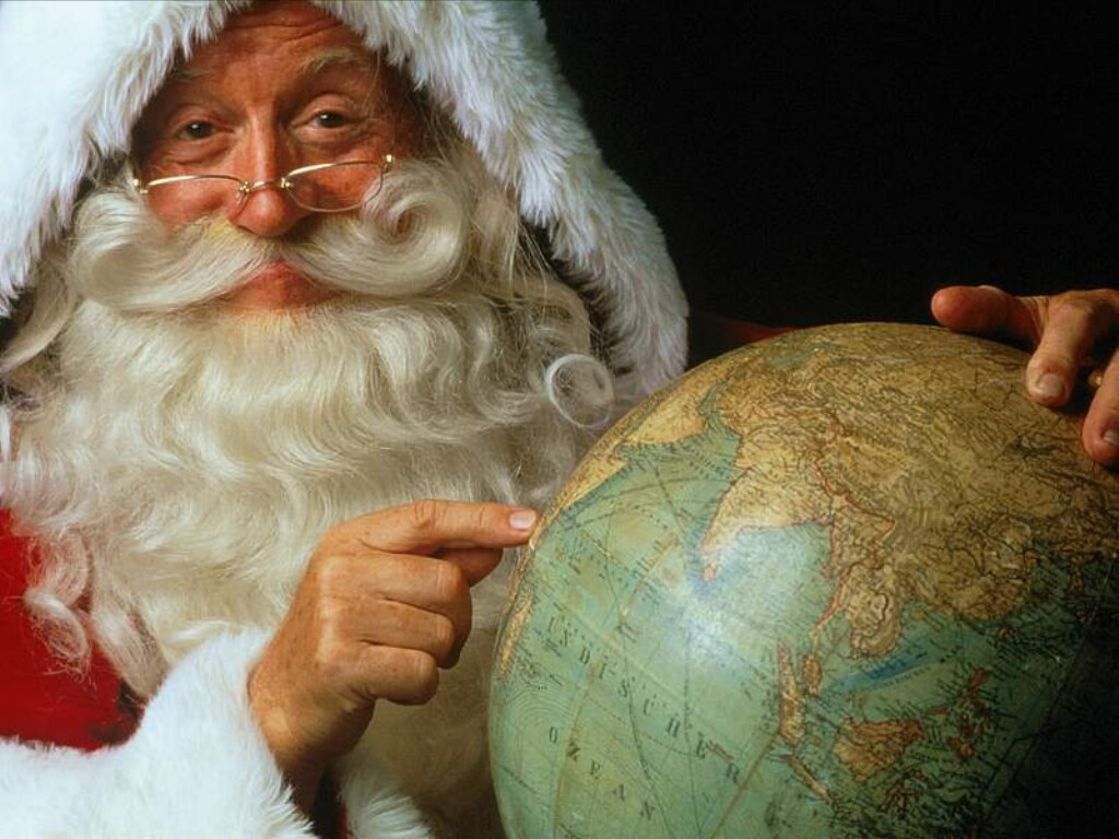 Globetrotting Santa Claus