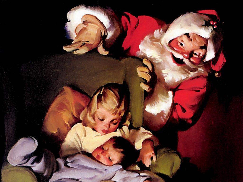 Santa With Children