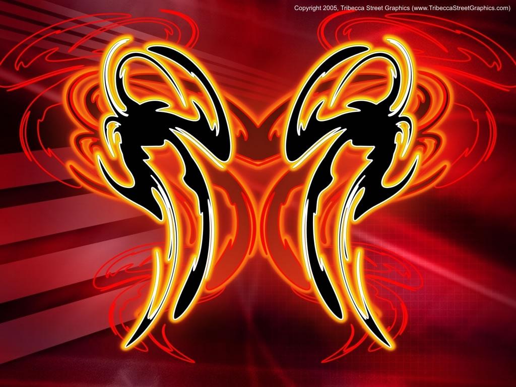 Rorschach Alien Glow