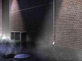 brickwall bin drain