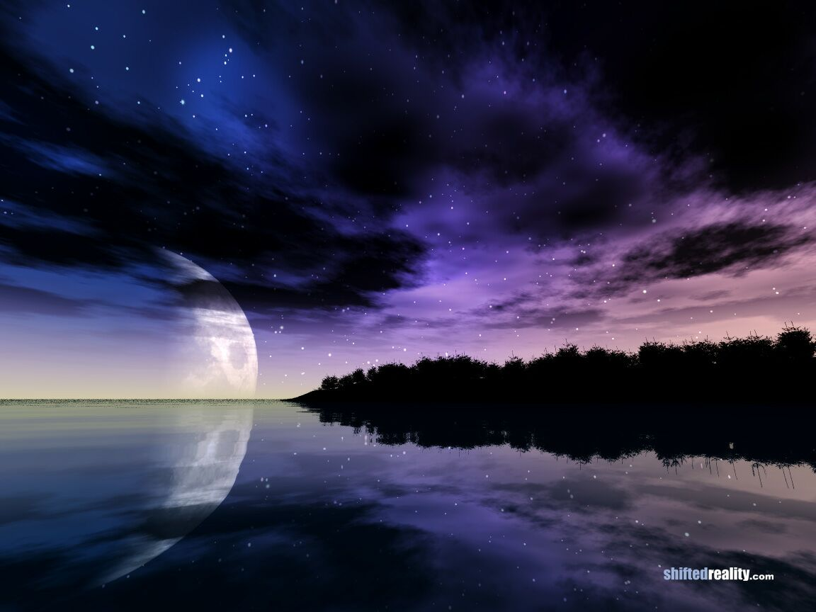 Night Nature Wallpaper Nature Shifted Reality Night
