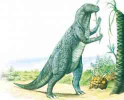 iguanodon eating from tree