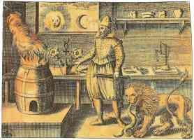 17th century alchemical key