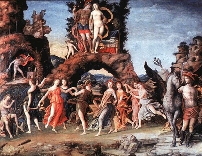 Mantegnas Parnassus