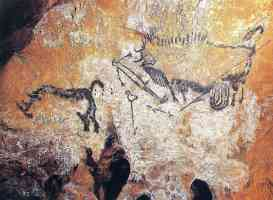 paleolithic art in the lascaux caves