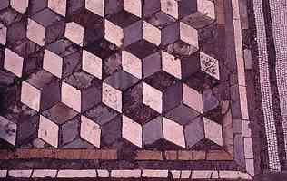 polygonal pavement in pompeii