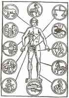 15th century zodiacal man