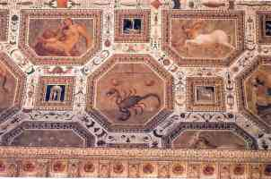 17th century astronomical ceiling in vicenza