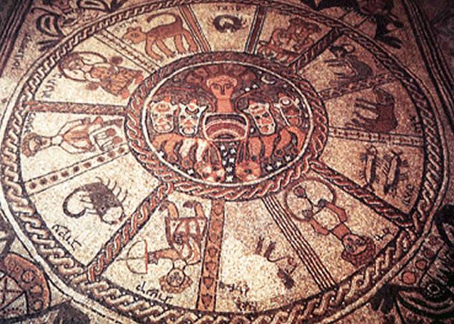 Zodiac Pavement Astrology Wallpaper