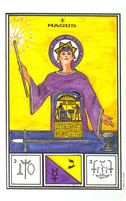 Ceremonial Magick Tarot Cards Magus