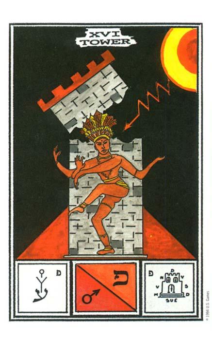 Tower Ceremonial Magick Tarot Cards Wallpaper