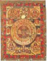 tantric tibetan wall hanging