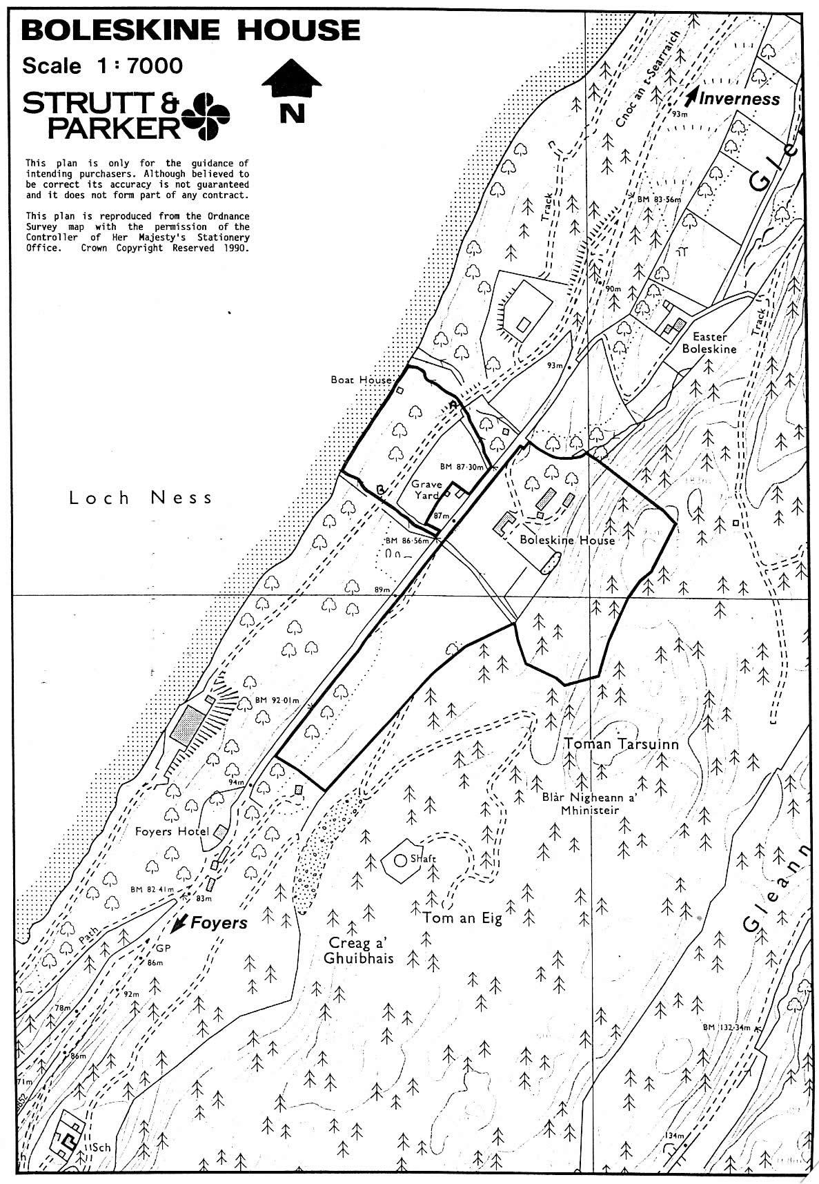 Map Of Boleskine House Diagrams And Drawings Wallpaper