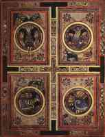 four evangelists from book of kells